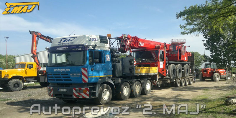 Heavy load transportation - Autoprevoz 2. MAJ