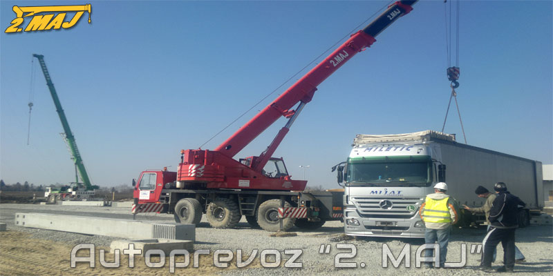 Loading and unloading services - Autoprevoz 2. MAJ